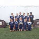 Girls U13 Gold Finalists - Seattle United NE G06 Blue