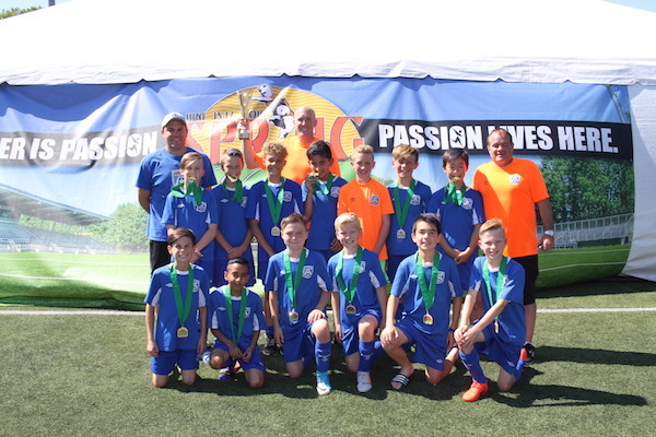Boys U12 Gold Champions - Coastal FC Royal